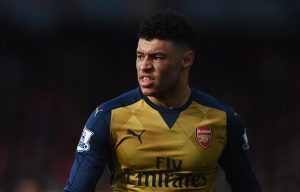BOURNEMOUTH, ENGLAND - FEBRUARY 07:  Alex Oxlade-Chamberlain of Arsenal looks on during the Barclays Premier League match between A.F.C. Bournemouth and Arsenal at the Vitality Stadium on February 7, 2016 in Bournemouth, England.  (Photo by Michael Regan/Getty Images)