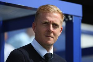 LONDON, ENGLAND - AUGUST 7: Leeds manager Gary Monk looks on prior to the Sky Bet Championship match between Queens Park Rangers and Leeds United at Loftus Road on August 7, 2016 in London, England. (Photo by Harry Murphy/Getty Images)