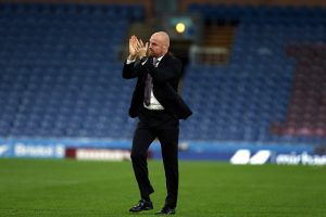 BURNLEY, ENGLAND - AUGUST 05:  Sean Dyche manager of Burnley reacts after the Pre-Season Friendly match between Burnley and  Real Sociedad at Turf Moor on August 5, 2016 in Burnley, England.  (Photo by Nigel Roddis/Getty Images)