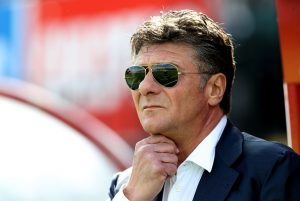 WOKING, ENGLAND - JULY 10:  Walter Mazzarri, the Watford manager looks on during the pre season friendly match between Woking and Watford at The Laithwaite Community Stadium on July 10, 2016 in Woking, England.  (Photo by David Rogers/Getty Images)