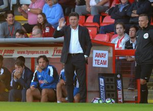 STEVENAGE, ENGLAND - JULY 14:  Walter Mazzari, Manager of Watford looks on during the Pre-Season Friendly match between Stevenage and Watford at The Lamex Stadium on July 14, 2016 in Stevenage, England.  (Photo by Tony Marshall/Getty Images)