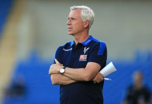 COLCHESTER, ENGLAND - JULY 25:  Crystal Palace Manager Alan Pardew during the Pre-Season Friendly match between Colchester United and Crystal Palace at Colchester Community Stadium on July 25, 2016 in Colchester, England. (Photo by Stephen Pond/Getty Images)