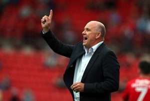 BARNSLEY, ENGLAND - JULY 26:  Mike Phelan caretaker manager of Hull City during the  Pre-Season Friendly match between Barnsley and Hull City at Oakwell Stadium on July 26, 2016 in Barnsley, England.  (Photo by Nigel Roddis/Getty Images)