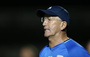 NORTHAMPTON, ENGLAND - AUGUST 23:  West Bromwich Albion manager Tony Pulis looks on during the EFL Cup second round match between Northampton Town and West Bromwich Albion at Sixfields Stadium on August 23, 2016 in Northampton, England.  (Photo by Pete Norton/Getty Images)
