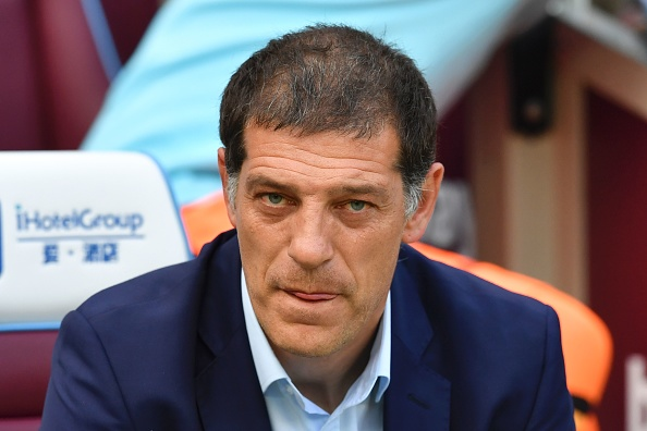 West Ham United's Croatian manager Slaven Bilic arrives for the English Premier League football match between West Ham United and Southampton at The London Stadium, in east London on September 25, 2016. / AFP / Ben STANSALL / RESTRICTED TO EDITORIAL USE. No use with unauthorized audio, video, data, fixture lists, club/league logos or 'live' services. Online in-match use limited to 75 images, no video emulation. No use in betting, games or single club/league/player publications.  /         (Photo credit should read BEN STANSALL/AFP/Getty Images)