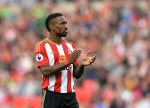 SUNDERLAND, ENGLAND - SEPTEMBER 24: Jermain Defoe of Sunderland in action during the Premier League match between Sunderland FC and Crystal Palace FC at Stadium of Light on September 24, 2016 in Sunderland, England. (Photo by Mark Runnacles/Getty Images)