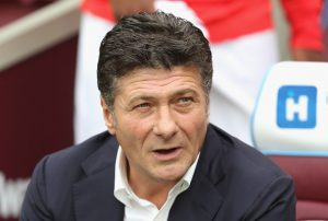 LONDON, ENGLAND - SEPTEMBER 10: Walter Mazzarri, Manager of Watford looks on during the Premier League match between West Ham United and Watford at Olympic Stadium on September 10, 2016 in London, England.  (Photo by Mark Thompson/Getty Images)
