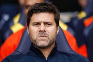 Tottenham Hotspur's Argentinian head coach Mauricio Pochettino looks on ahead of the English Premier League football match between Tottenham Hotspur and Sunderland at White Hart Lane in London, on September 18, 2016. / AFP / Ian KINGTON / RESTRICTED TO EDITORIAL USE. No use with unauthorized audio, video, data, fixture lists, club/league logos or 'live' services. Online in-match use limited to 75 images, no video emulation. No use in betting, games or single club/league/player publications.  /         (Photo credit should read IAN KINGTON/AFP/Getty Images)