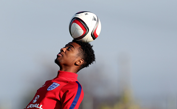 Chelsea set to offer Angel Gomes a lucrative contract (Angel Gomes in action for England in the photo)