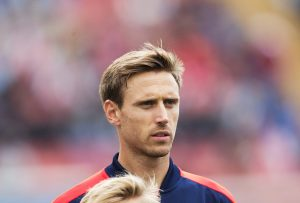 GOTHENBURG, SWEDEN - AUGUST 07: Nacho Monreal of Arsenal during the Pre-Season Friendly between Arsenal and Manchester City at Ullevi on August 7, 2016 in Gothenburg, Sweden. (Photo by Nils Petter Nilsson/Ombrello/Getty Images)