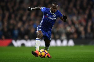 LONDON, ENGLAND - NOVEMBER 26:  Victor Moses of Chelsea in action during the Premier League match between Chelsea and Tottenham Hotspur at Stamford Bridge on November 26, 2016 in London, England.  (Photo by Shaun Botterill/Getty Images)