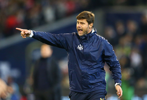 MELBOURNE, AUSTRALIA - JULY 29:  Mauricio Pochettino, Manager of Tottenham Hotspur gestures during 2016 International Champions Cup Australia match between Tottenham Hotspur and Atletico de Madrid at the Melbourne Cricket Ground on July 29, 2016 in Melbourne, Australia.  (Photo by Scott Barbour/Getty Images)