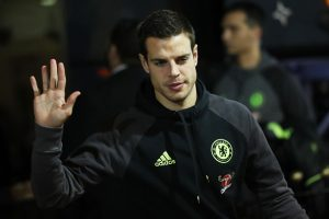SUNDERLAND, ENGLAND - DECEMBER 14: Cesar Azpilicueta of Chelsea arrives at the stadiium prior to kick off during the Premier League match between Sunderland and Chelsea at Stadium of Light on December 14, 2016 in Sunderland, England.  (Photo by Ian MacNicol/Getty Images)
