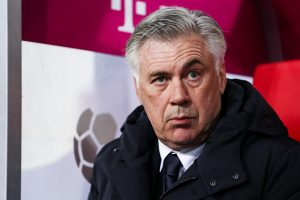 DUESSELDORF, GERMANY - JANUARY 14: Carlo Ancelotti head coach of Bayern looks on prior the Telekom Cup 2017 match between Fortuna Duesseldorf and Bayern Muenchen at Esprit-Arena on January 14, 2017 in Duesseldorf, Germany. (Photo by Maja Hitij/Bongarts/Getty Images)