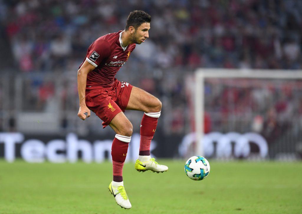 Liverpool midfielder Marko Grujic gathering interest from Italy (Grujic is seen in the photo)