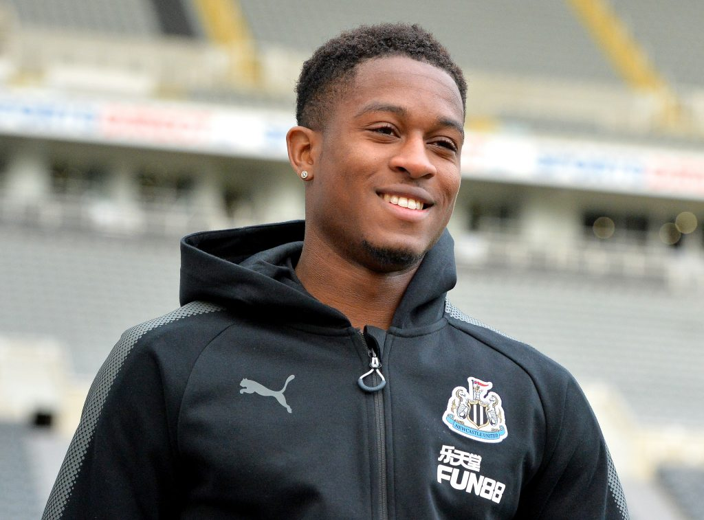 Newcastle United's Aarons expected to seal his exit in January (Aarons is smiling in the picture)