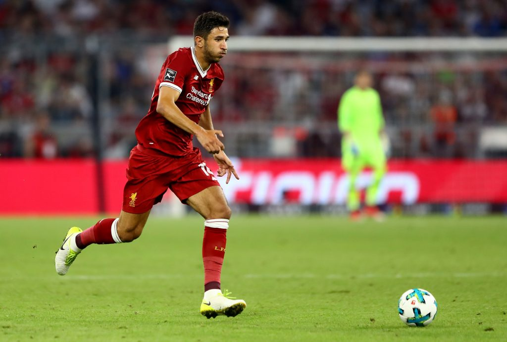 Agent of Liverpool's Grujic provides update on his future (Liverpool's Grujic is seen in the photo)