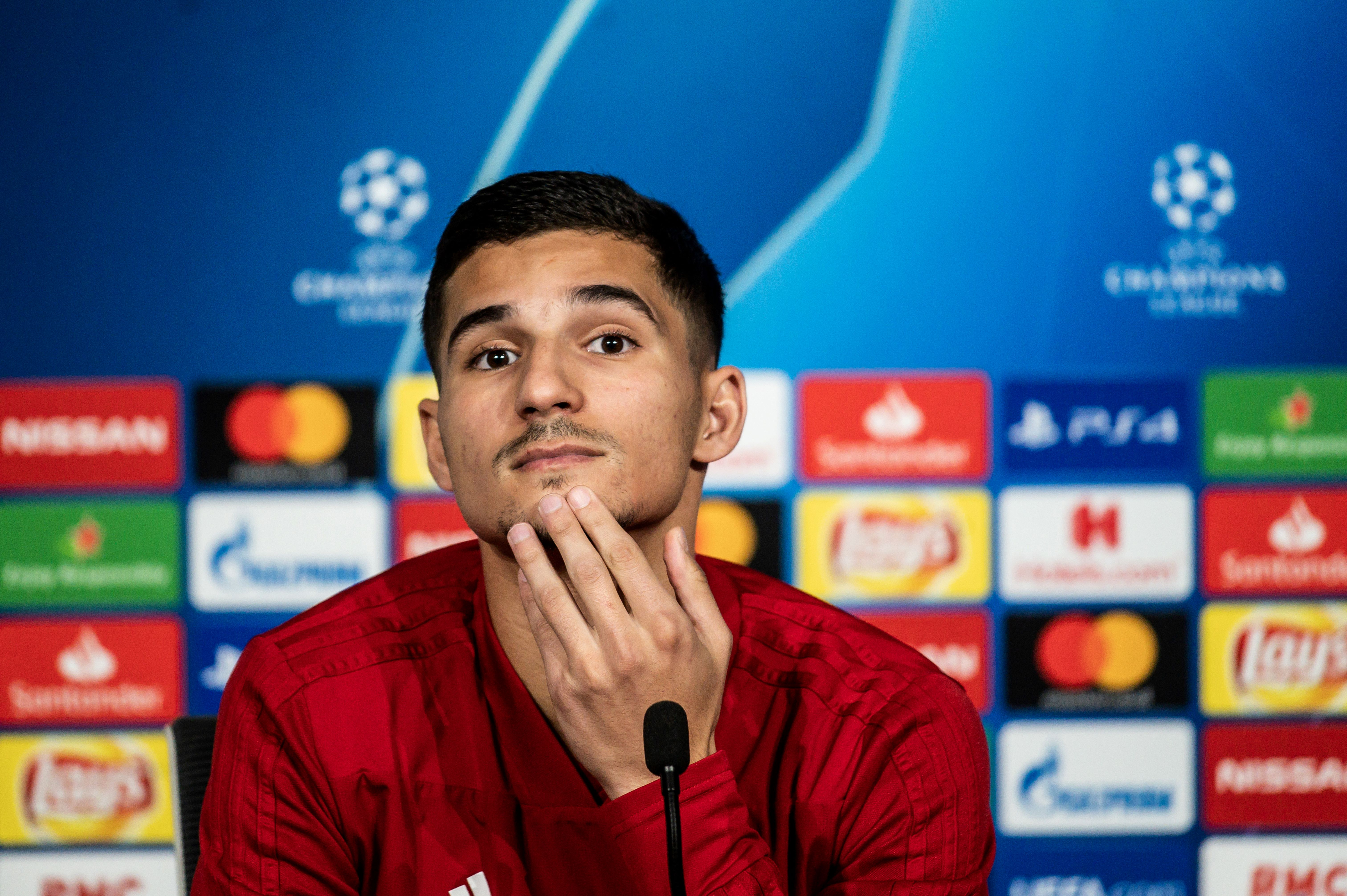 Manchester City and Chelsea keeping a keen eye on Aouar who is seen in the picture