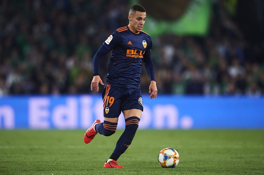 Real Madrid keeping a close eye on Rodrigo Moreno who is seen in the picture