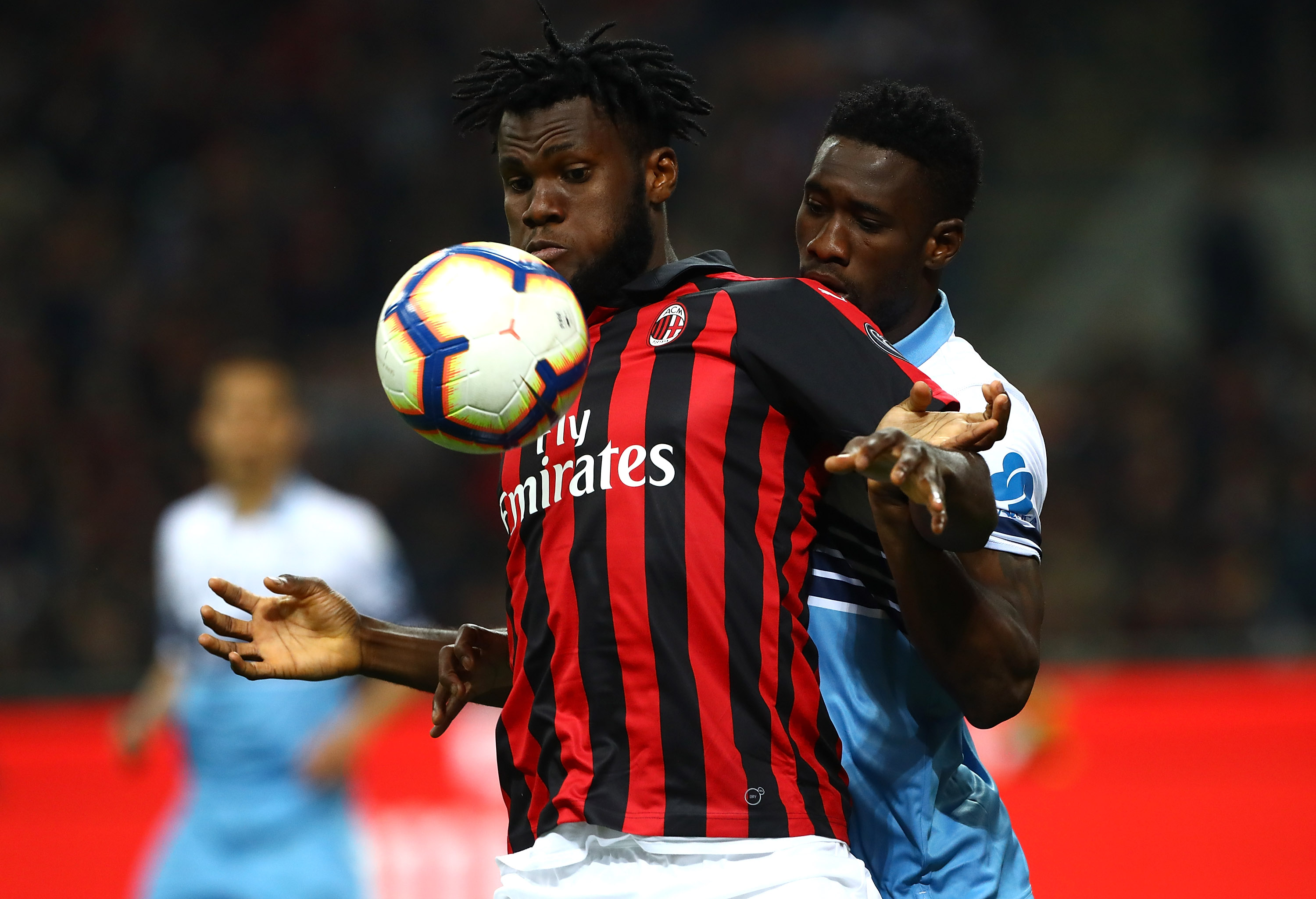 Journalist claims Kessie, who is seen in the photo, could attract interest from Newcastle