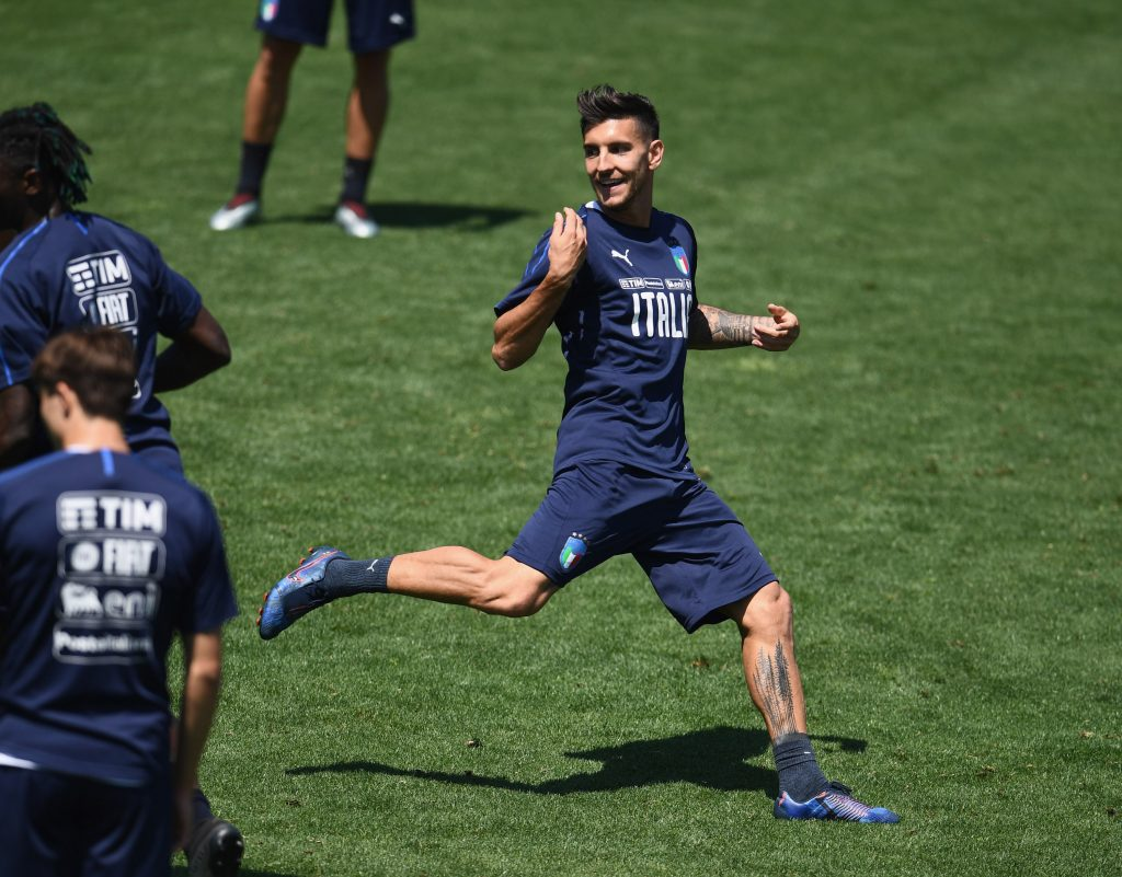 Everton to rival Paris Saint-Germain for Lorenzo Pellegrini who is in action in the picture
