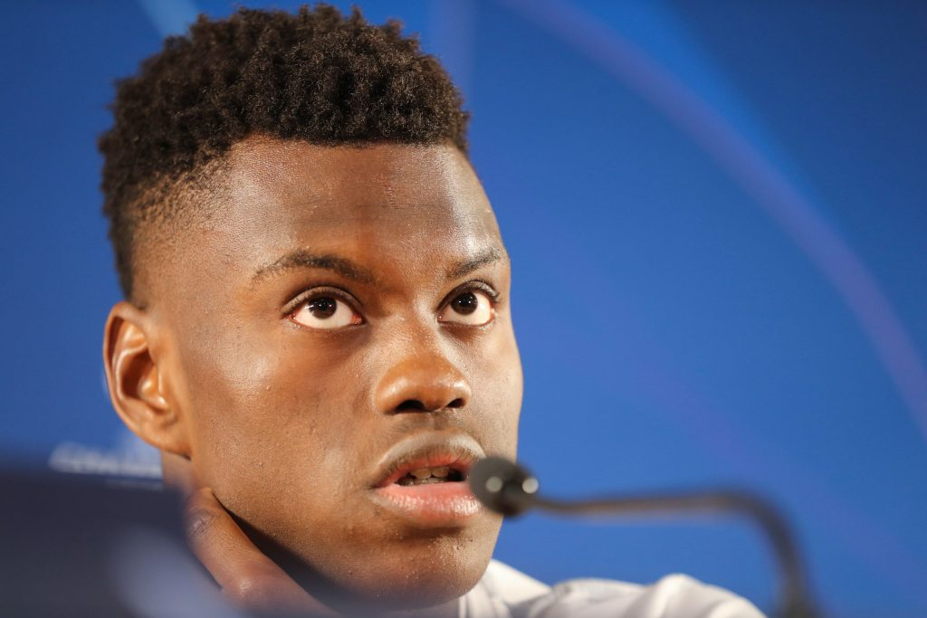 Real Madrid keeping a keen eye on Benoît Badiashile who is seen in the picture
