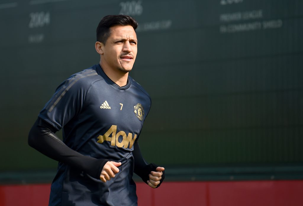 Manchester United agree to permanently part ways with Sanchez who is seen in the picture