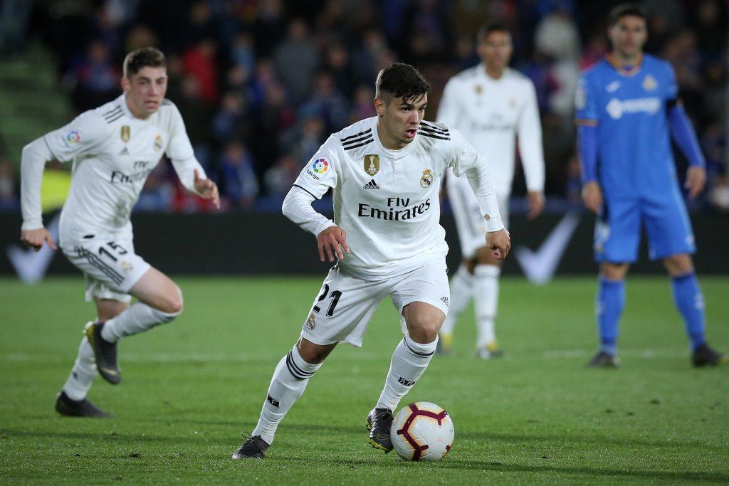 Real Madrid winger Brahim Diaz is on Granada's radar (Brahim Diaz is seen in the photo)