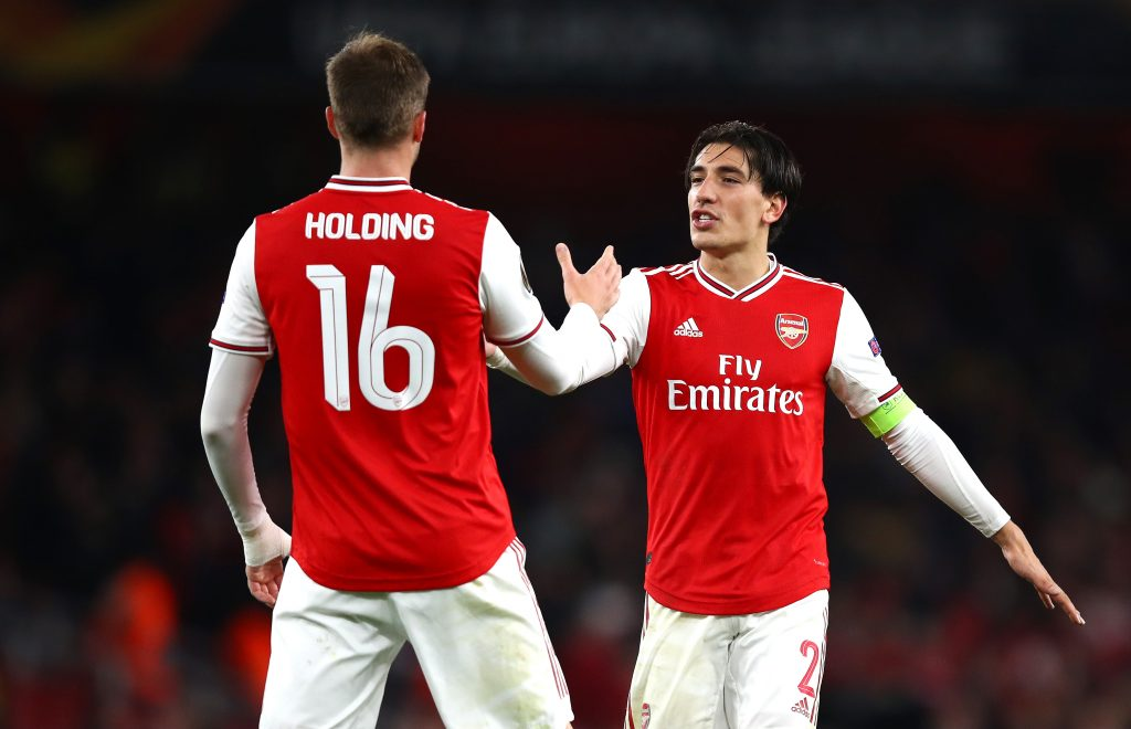 Predicted Arsenal Lineup Vs Norwich City - Bellerin & Holding are both set to start