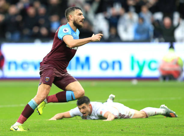West Ham United hoping to offload Robert Snodgrass who is in action in the picture