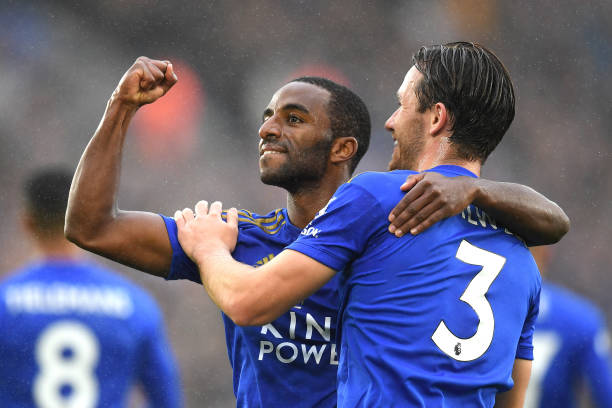 3 replacements that Wolves should consider for Doherty (Leicester City's Ricardo Pereira celebrating in the picture)