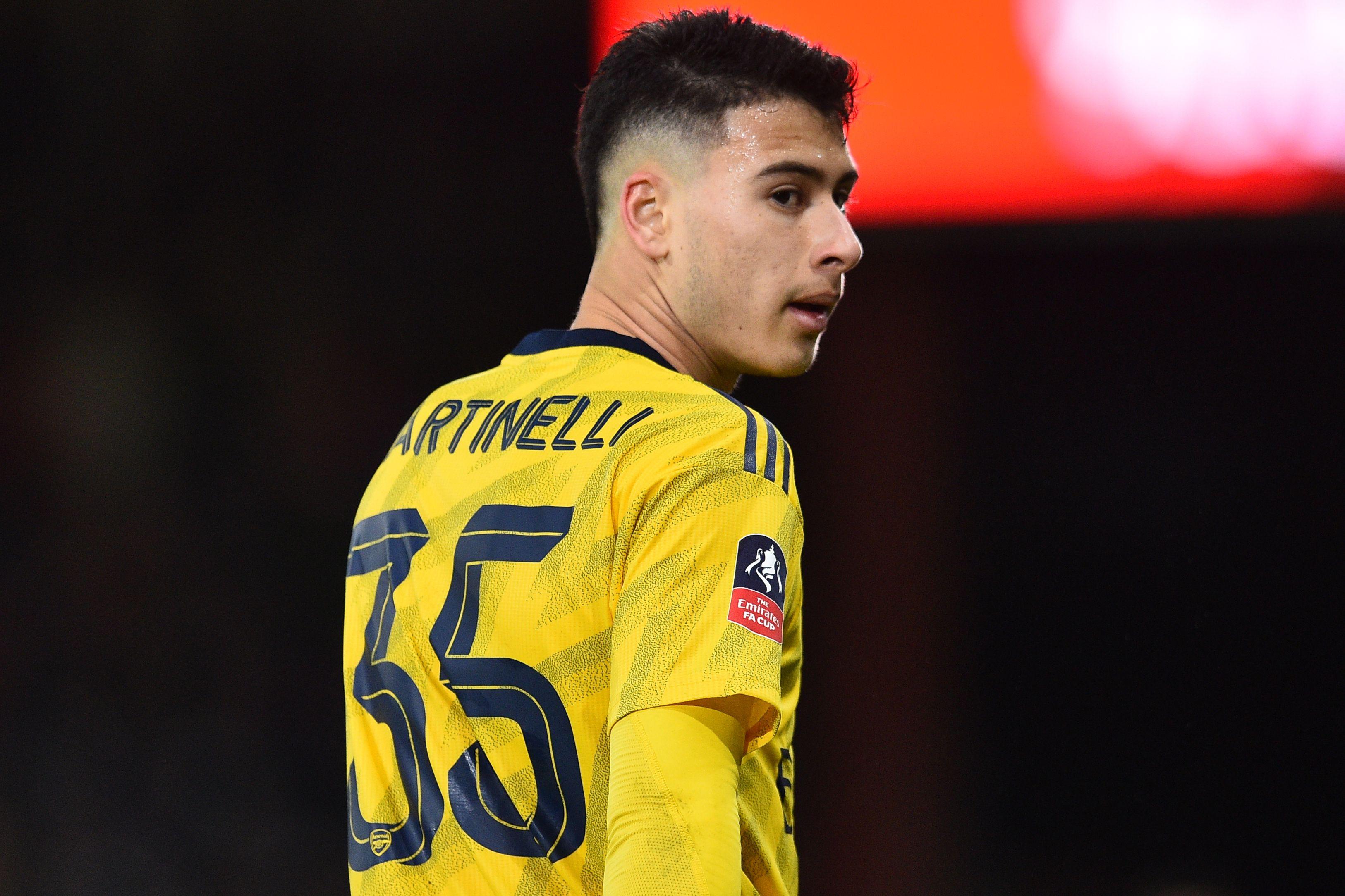 Predicted Arsenal Lineup Vs Southampton - Martinelli hoping to start.