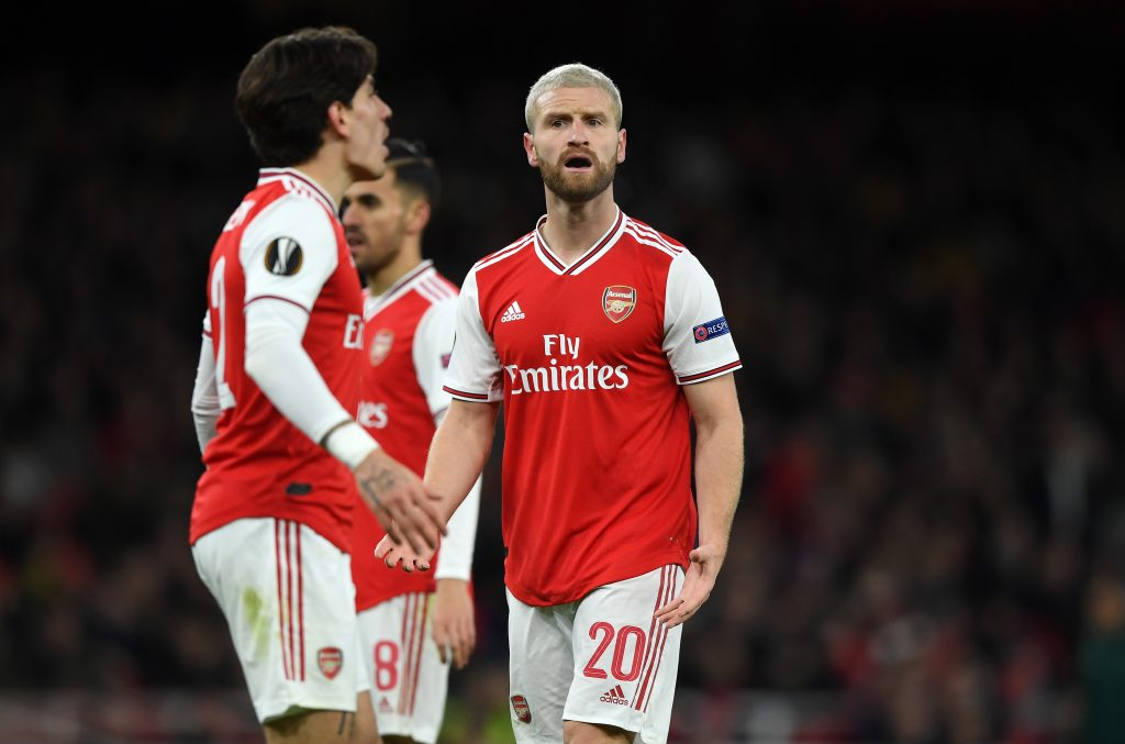 Barcelona could make a move for Shkodran Mustafi - He is not valued member of the team anymore.