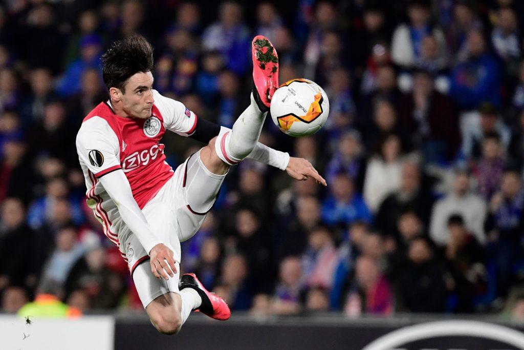 Arsenal target Tagliafico against Getafe in Europa League.