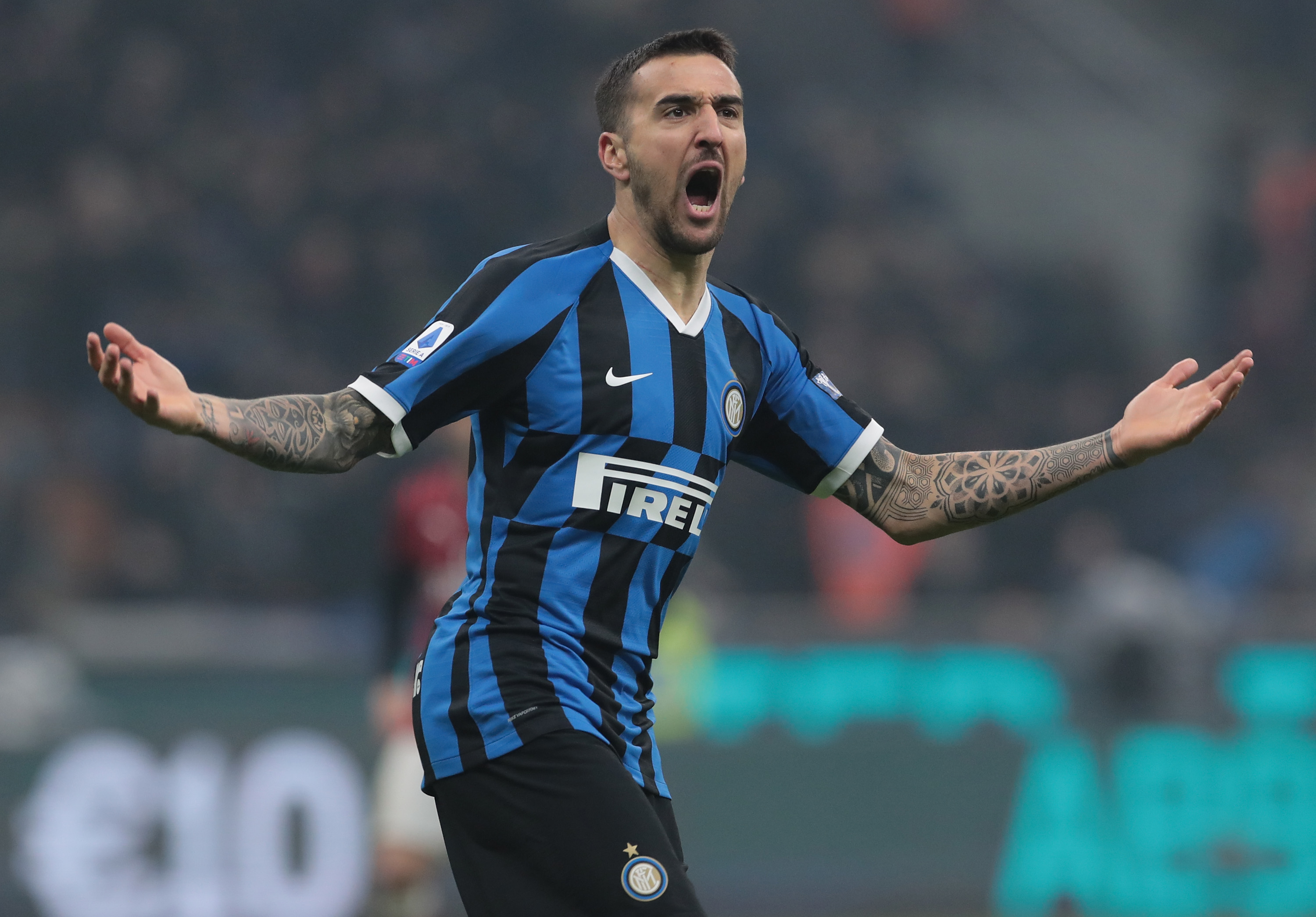 Tottenham Hotspur have been given another shot to sign Vecino who is celebrating in the photo
