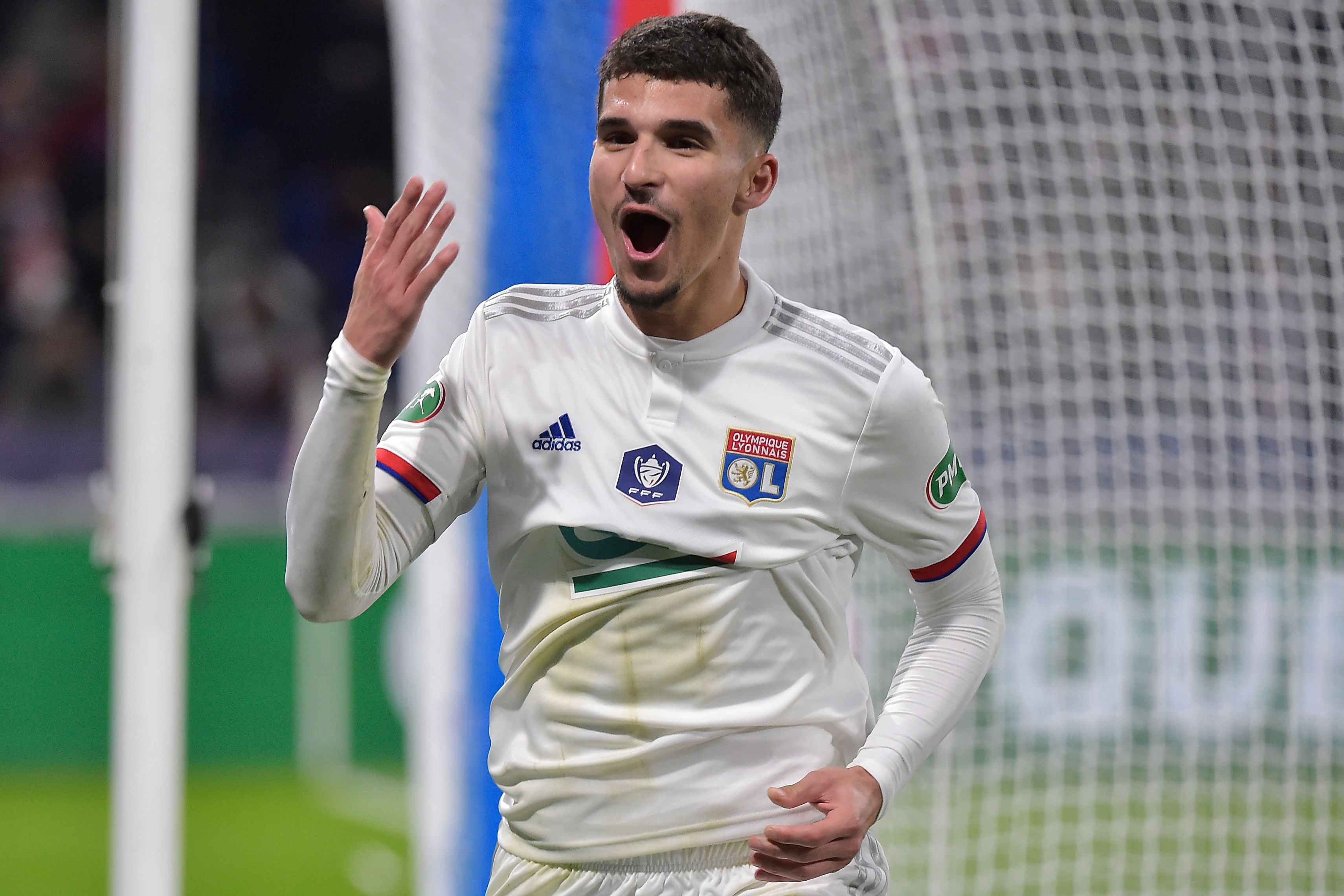 Arsenal have made a move to sign Houssem Aouar - A prime target.