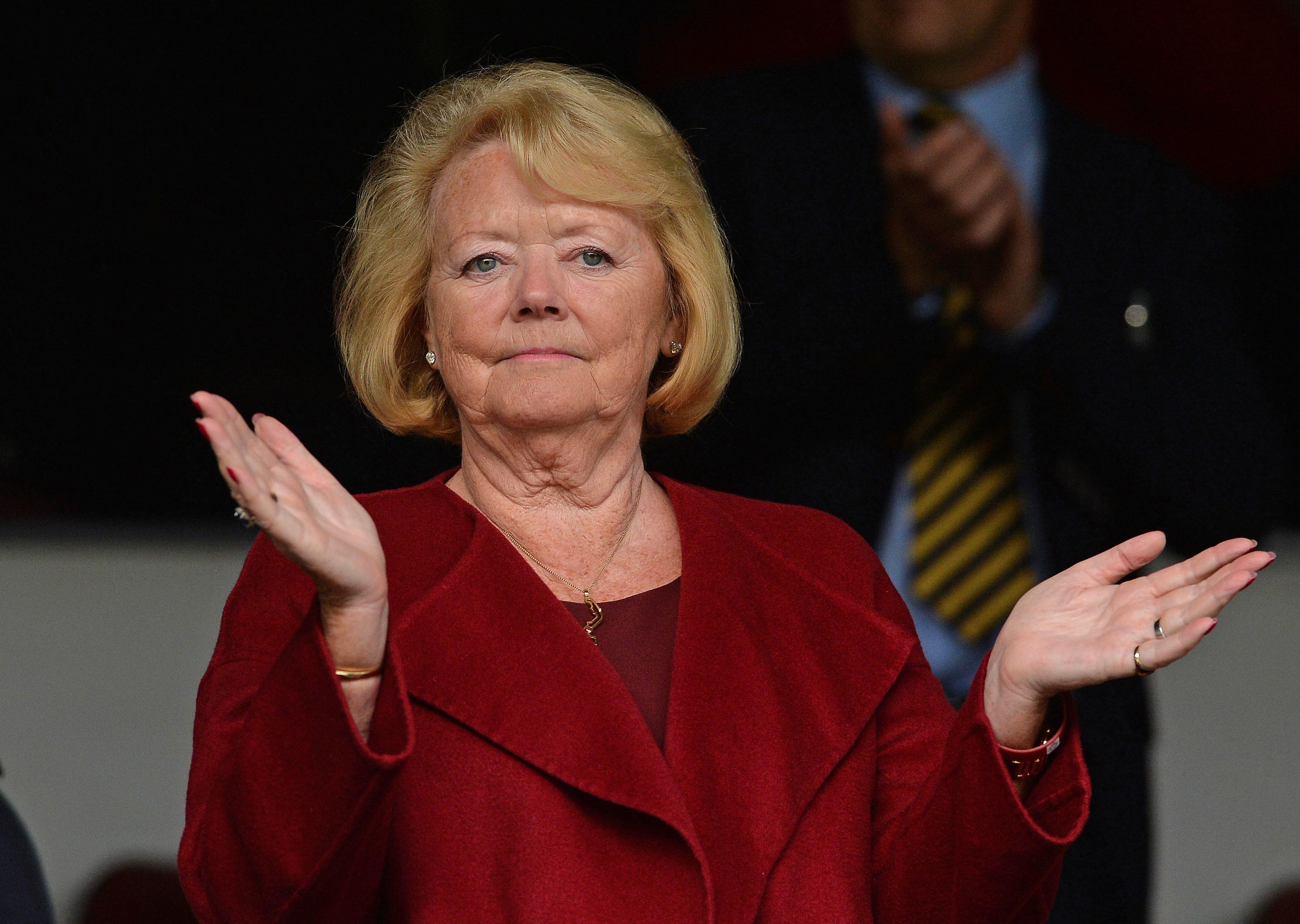 Hearts chairwoman Ann Budge