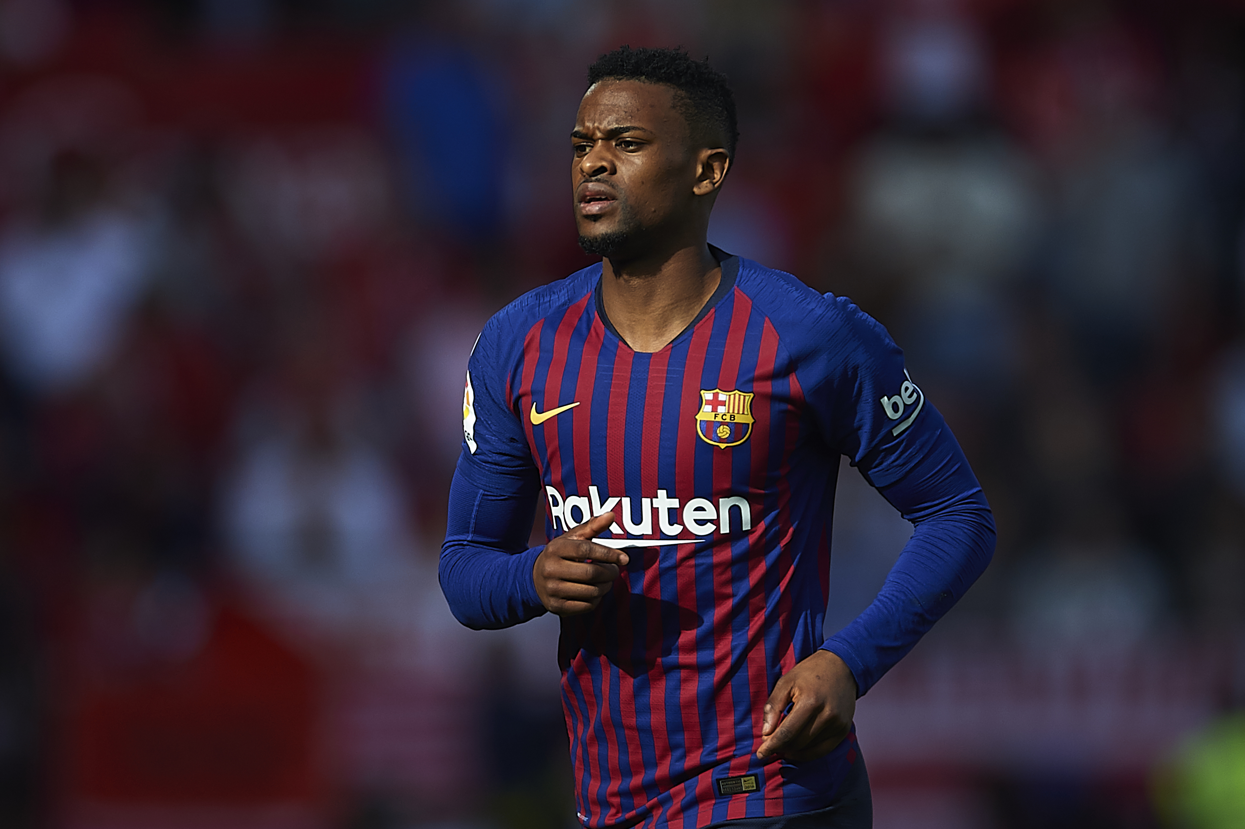 Manchester City are not interested in landing Nelson Semedo who is seen in the photo