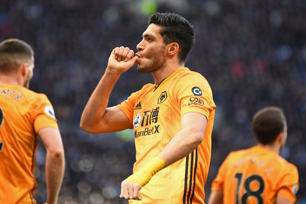 3-4-3 Wolves Predicted Lineup Vs Aston Villa (Wolves' Raul Jimenez seen in the photo)