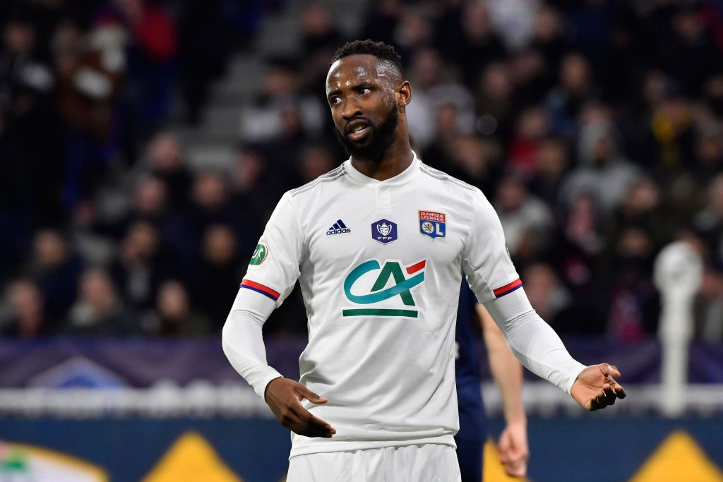 West Ham United are keeping tabs on Moussa Dembele who is seen in the photo