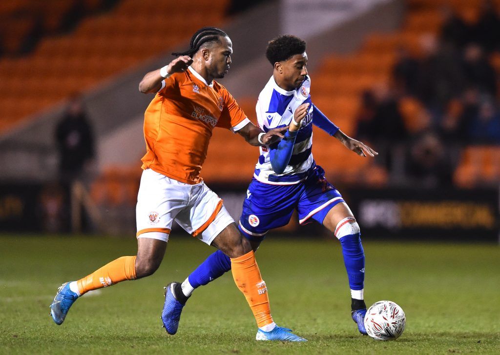 Celtic Add Reading's Michael Olise To Summer Wish-List - Olise in action during a match