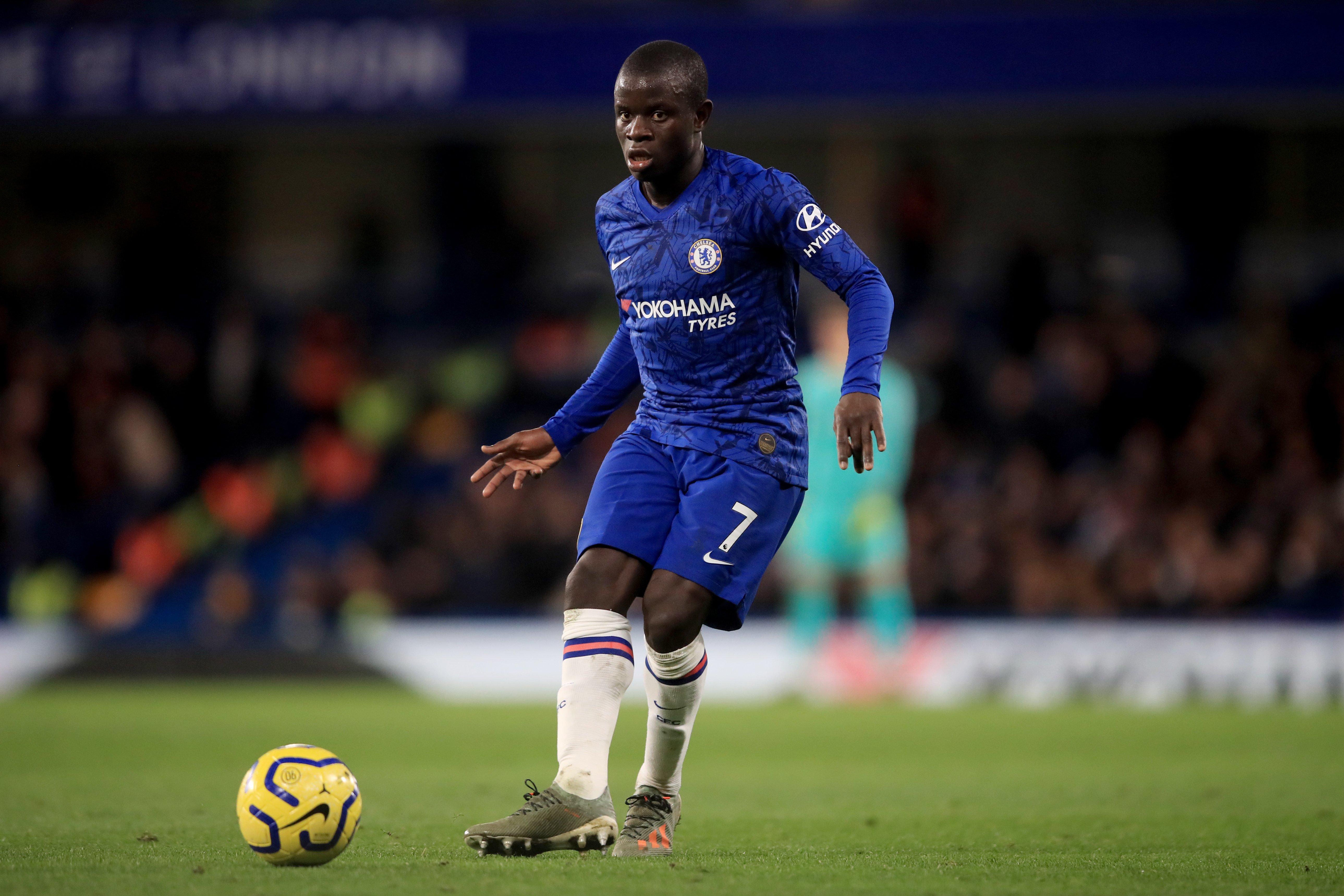 N'Golo Kante To Miss Remainder Of The Season - Kante in action during a match
