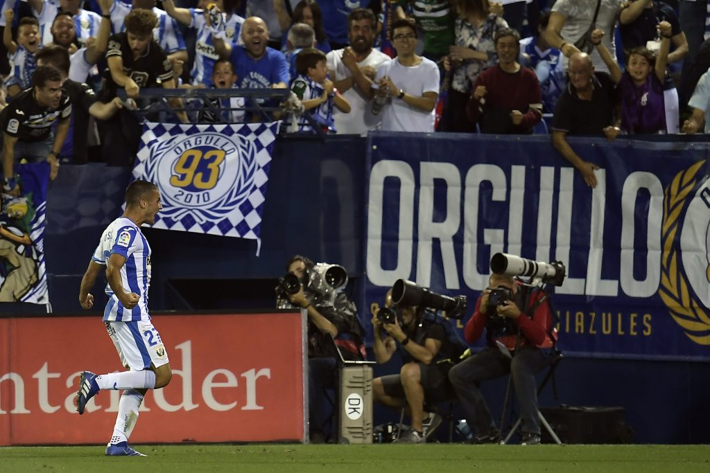 Real Madrid willing to sell Oscar Rodriguez who is celebrating in the photo