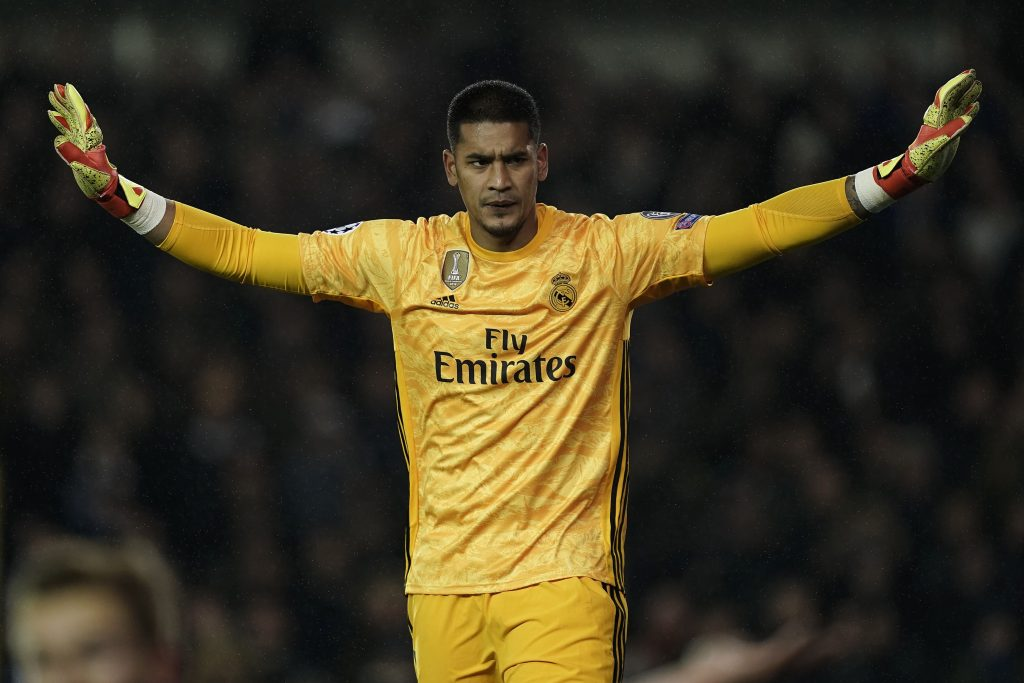 Newcastle United identify Alphonse Areola as a summer target (Areola is seen in the photo)