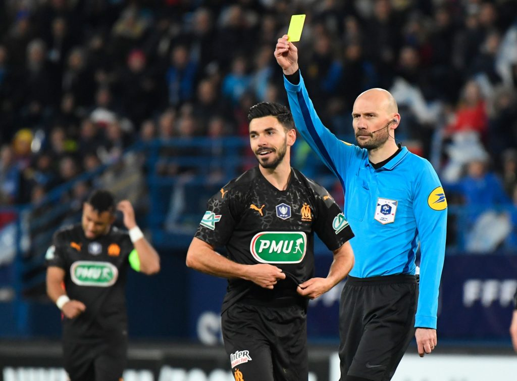 Super agent offers Sanson, who is receiving a yellow card in the photo, to Everton among other clubs
