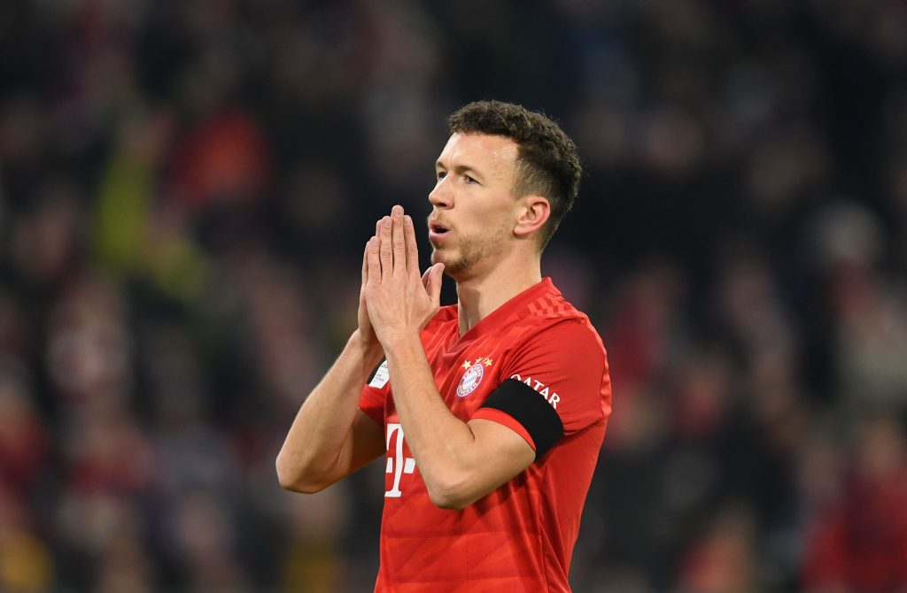 Tottenham are keen on securing the services of Ivan Perisic - He hasn't found much luck at Bayern.