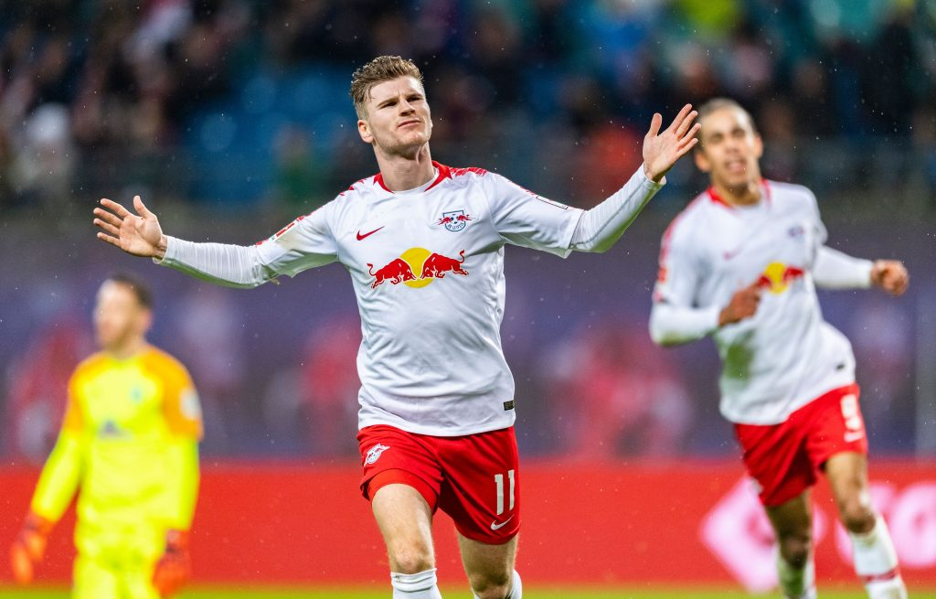 Lampard Aims To Make Timo Werner Chelsea's Central Figure - Werner celebrates a goal