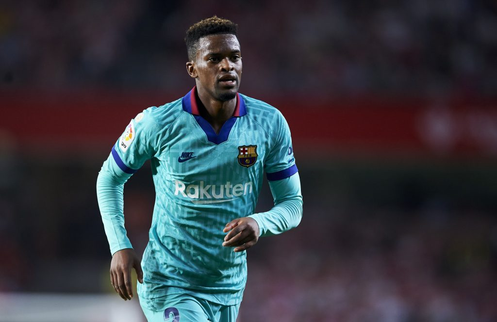 Manchester City are not interested in landing Nelson Semedo who is in action in the picture