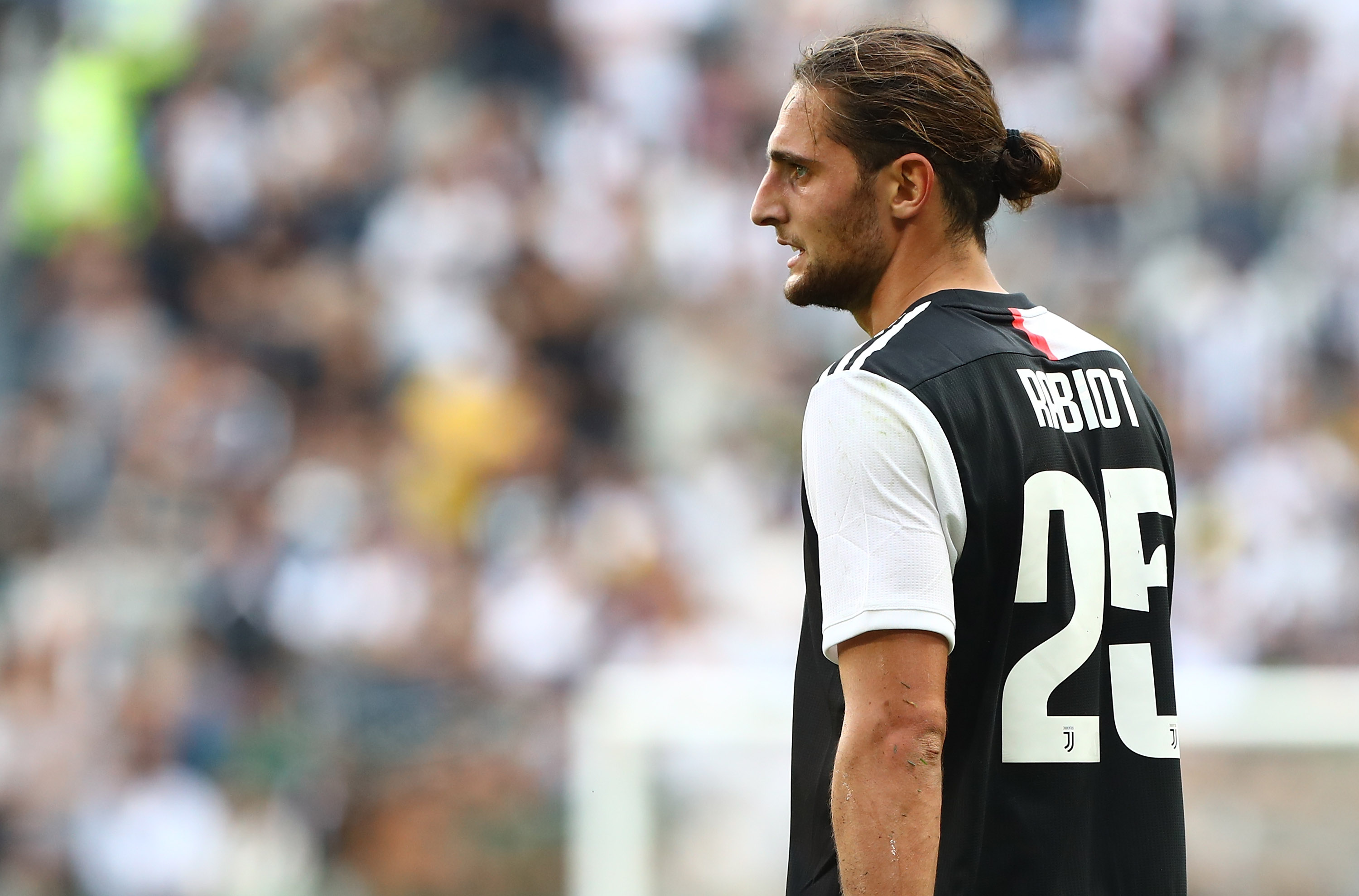 Everton have held informal talks with Adrien Rabiot who is seen in the photo