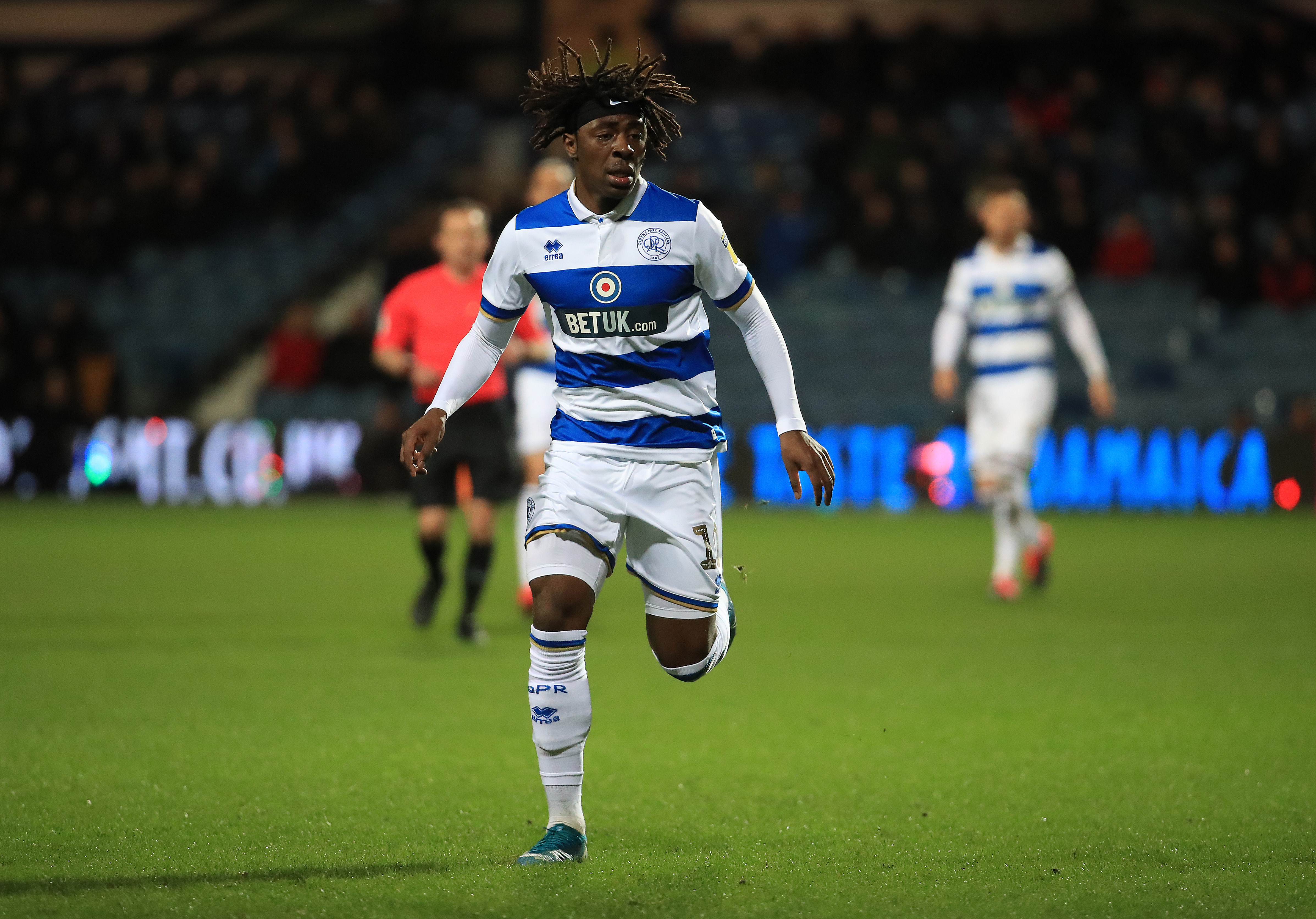 Eze's price-tag could be 'a stumbling block' for Newcastle United (Eze is in action in the photo)
